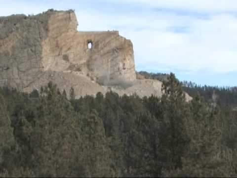 Crazy Horse Memorial Blast December 3, 2014