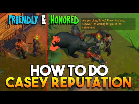 HOW TO DO CASEY REPUTATION (FRIENDLY AND HONORED)  |  LAST DAY ON EARTH: SURVIVAL