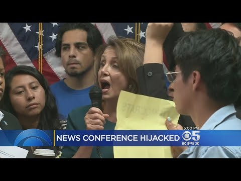 Demonstrators Shout Down Pelosi At San Francisco DREAM Act Event