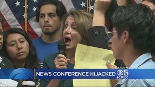 Demonstrators Shout Down Pelosi At San Francisco DREAM Act Event