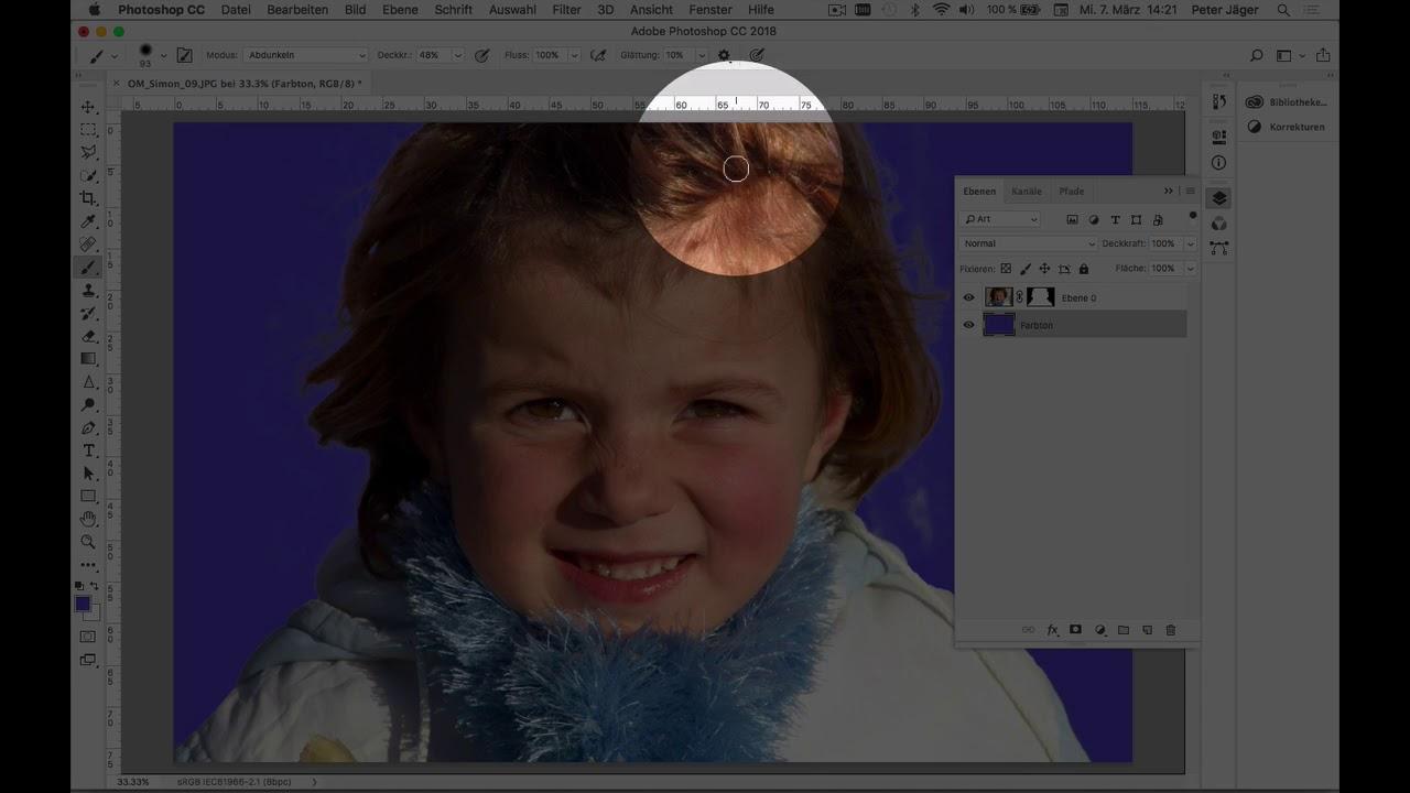 Photoshop cc freistellen schwieriger hintergrund