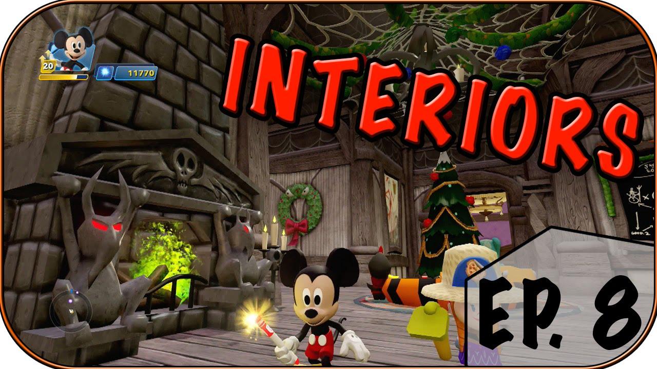 nightmare before christmas jack skellington room disney infinity 3 0 interiors ep 8 youtube. Black Bedroom Furniture Sets. Home Design Ideas