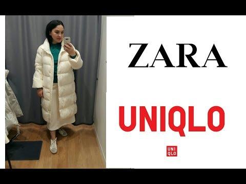 Шоппинг влог #ZARA.#UNIQLO/Новинки на Зиму и Осень