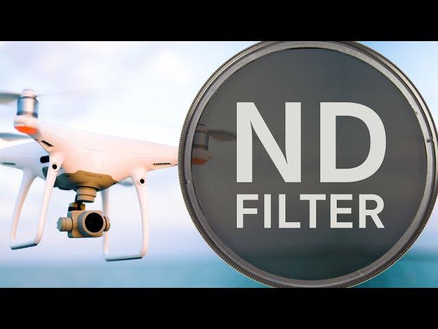 ND-Filter für Drohnen erklärt   + Empfehlungen