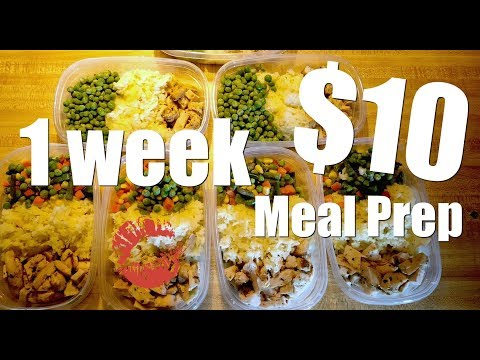 Meal Prep: $10 Week of Lunches or Dinners | Fast & Easy Recipe | Hustling Up Dinner