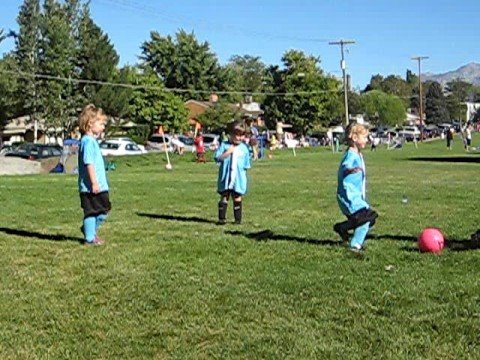 4 Year Old Girls Play Soccer 2 Youtube