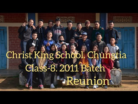 Christ King School Chungtia, Class 8 Batch of 2011 Reunion Picnic