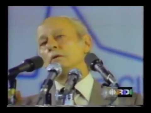 Référendum Québec 1980   Discours de René Lévesque