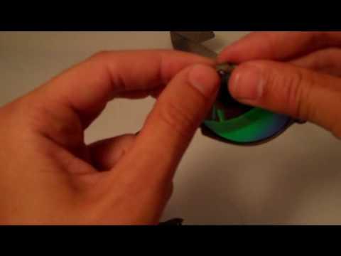 8c2543f2d9f Installation video for Oakley Romeo 1 Lenses - YouTube