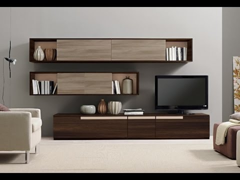 Mobili soggiorno moderni 2015 youtube - Mobili per tv moderni ...