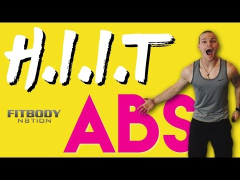 Oh Snap! I have Abs... H.I.I.T. Abdominal Workout