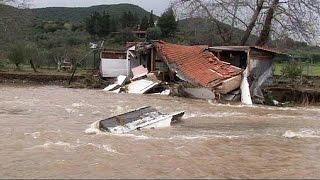 Emergenza maltempo in diverse località di Grecia, Romania e Regno Unito