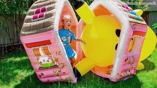Milusik Play with PlayHouse for kids and Giant Toys