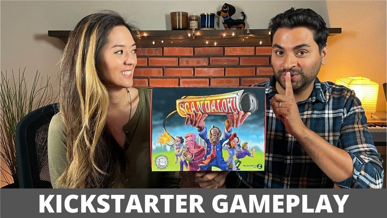 Scandaloh! - Kickstarter Tutorial & Playthrough