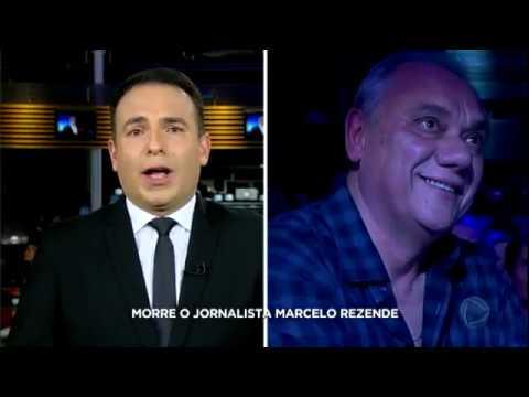 Morre, neste sábado (16), o jornalista e apresentador Marcelo Rezende