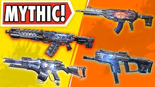 I USED ALL MYTHIC GUNS ONLY IN CALL OF DUTY MOBILE BATTLE ROYALE!