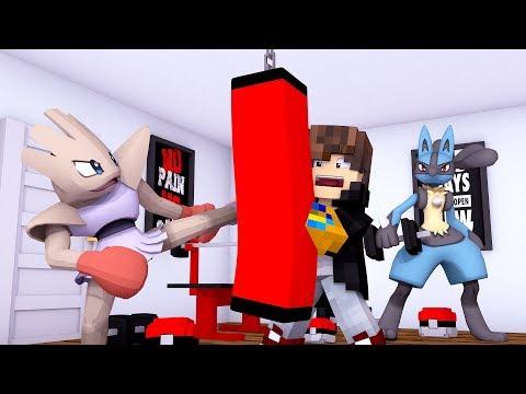 Minecraft: MUNDO L POKEMON - TREINAMENTO POKEMON - ‹ JUAUM › #56