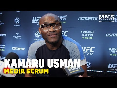 Kamaru Usman talks timetable for return, Colby Covington, Ben Askren, more
