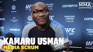 Kamaru Usman Talks Timetable For Return, Colby Covington, Ben Askren, More - MMA Fighting