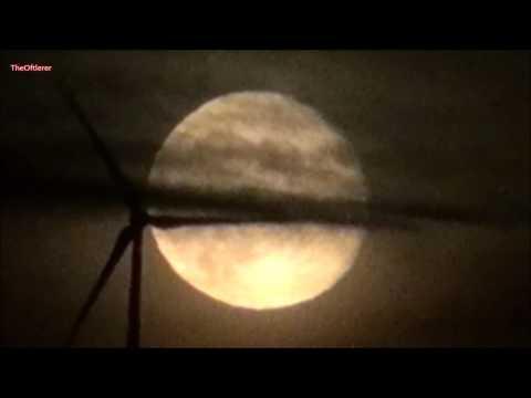 Extremer Zoom zum Mond ohne Polenböller
