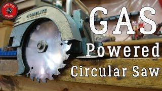 Rare Gas-Powered Circular Saw [Rescue]