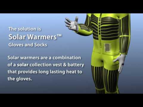 The Solar Suit | Solar Warming Clothing