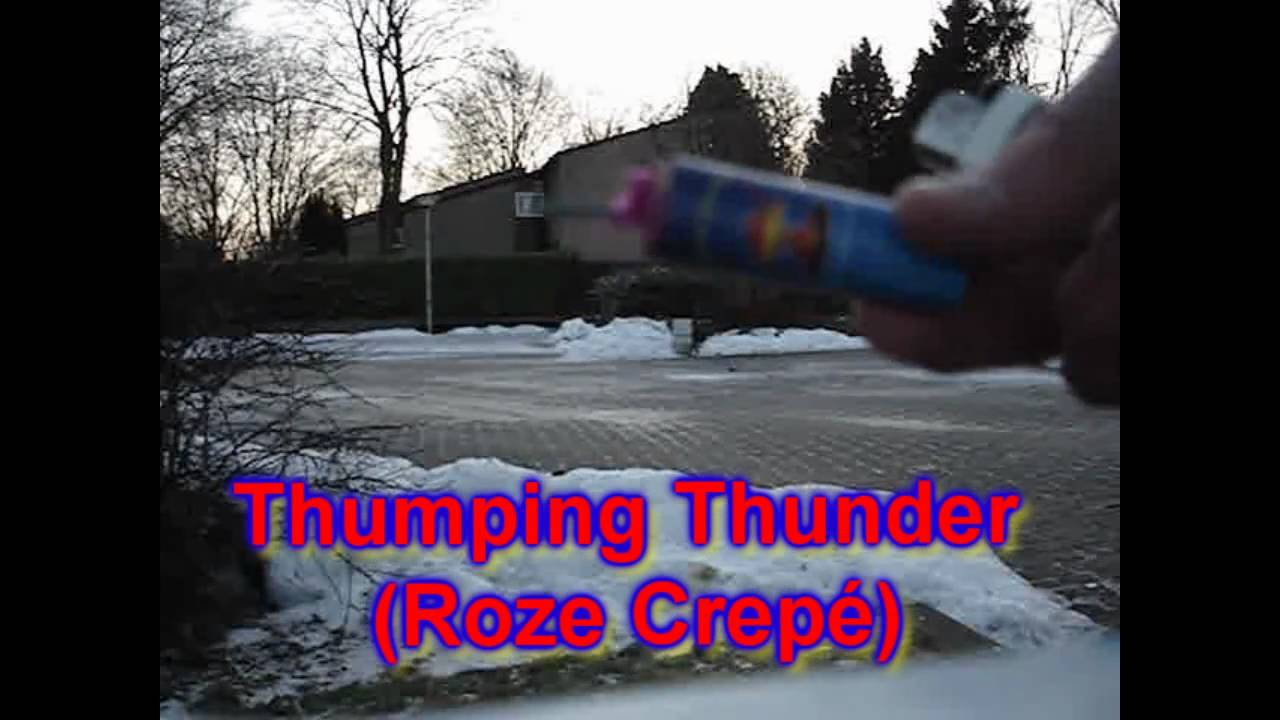 Nitraten vergelijking: Chooêt Banger VS. Thumping Thunder (Roze Crepé) - HD