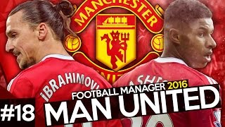 Manchester United Career Mode #18 - Football Manager 2016 Let's Play - Europa League Final