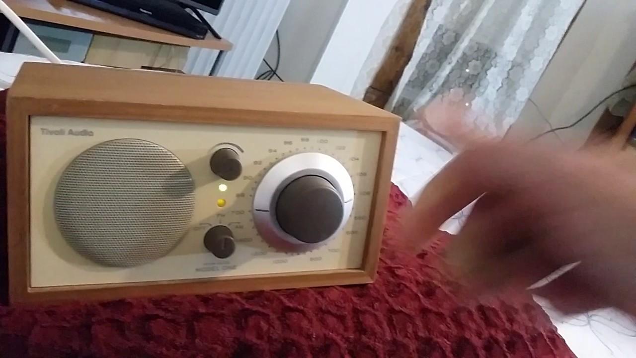 tivoli radio model one demo u0026 review - Tivoli Radio