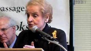 Madeleine Albright - The Iraq War and Middle East Diplomacy