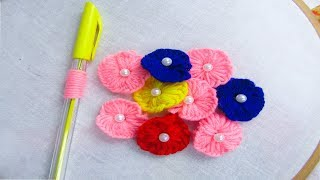 This video about:Hand Embroidery Amazing Trick# Sewing Hack with pen# Amazing flower embroidery trick For More Videos: Please Subscribe My Channel: ...