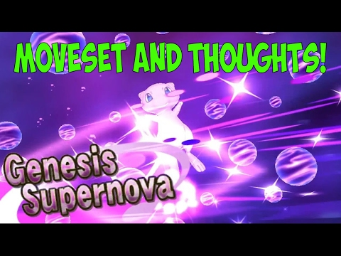 Genesis Supernova! Mew's Z-Move! Discussion and Moveset! w/ PokeaimMD