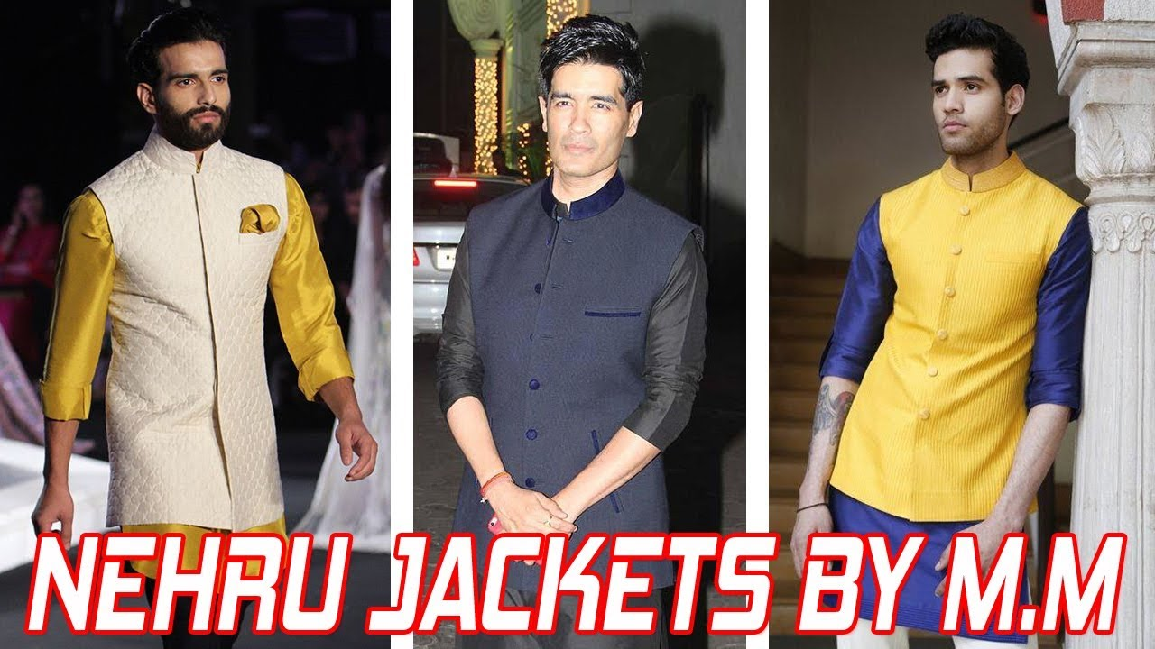 ecd899dbc6 Manish Malhotra Nehru Jackets Designs For Mens || Designer Jacket for Men