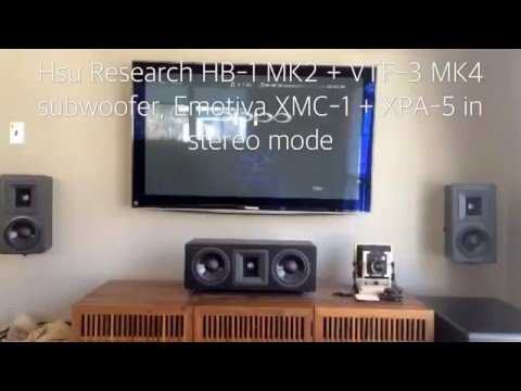 Hsu Research Speakers Vs ESS PS 4 Heil AMT