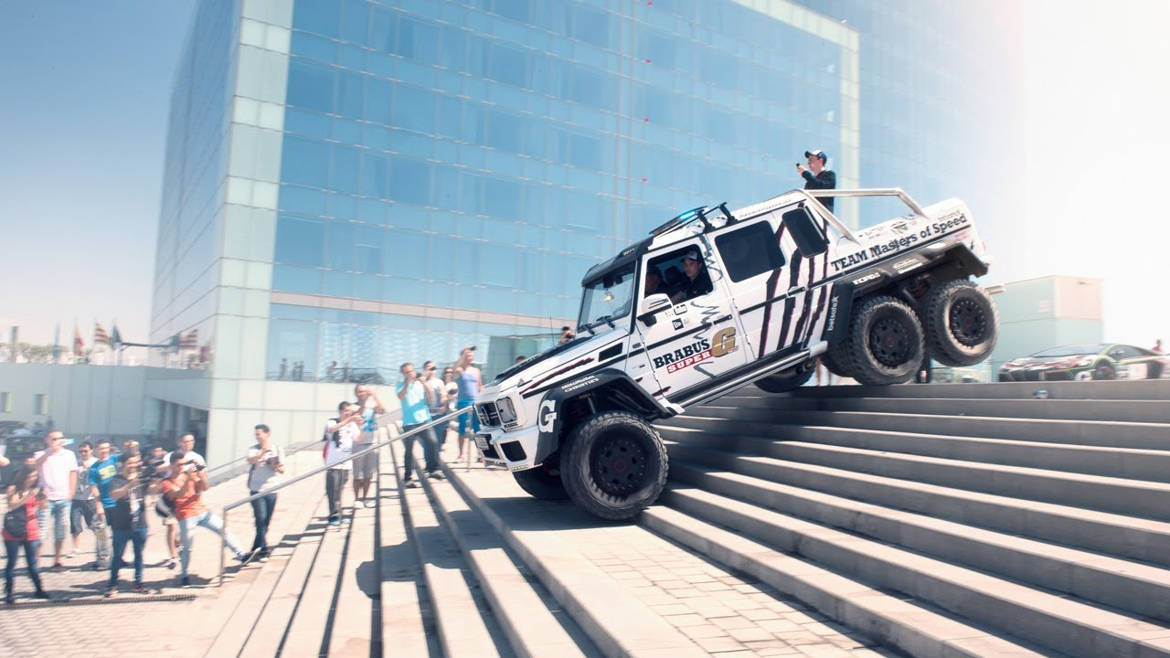 Brabus Mercedes G63 Amg 6x6 700 In The 2014 Gumball 3000 Team Betsafe