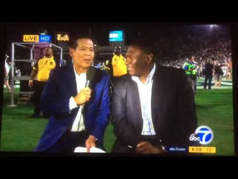 "KABC ABC 7 Eyewitness News ""Return of the Rams"" post-game special open August 13, 2016"
