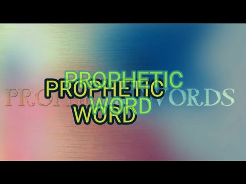 Prophetic Word**** The Tables are turning!