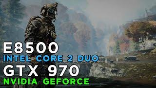 Can Intel Core 2 Duo run Battlefield 4? Gameplay Benchmark on GTX970 & Core 2 Duo E8500
