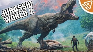 How Jurassic World Fallen Kingdom Will Fix The Lost World! (Nerdist News w/ Jessica Chobot)