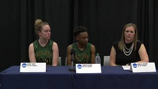 Postgame Press Conference - CPP WBB at 2019 NCAA Tournament