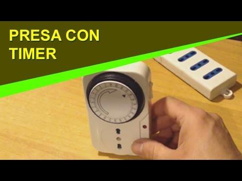 OROLOGIO GIORNALIERO PRESA ELETTRICA TIMER TEMPORIZZATA ANALOGICA  SPINA 24 ORE