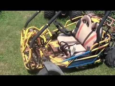 2007 Roketa 110cc Off Road Go Cart, $100 Craigslist deal - YouTube
