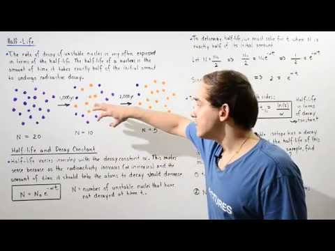 Half-Life Of Radioactive Atoms