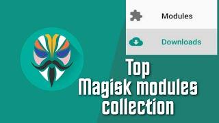 Magisk modules 2019