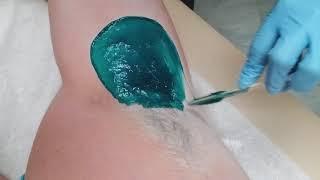 Underarm Waxing Tutorial