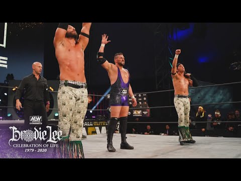 Must See Match to Open the Show | AEW Brodie Lee Celebration of Life, 12/30/20