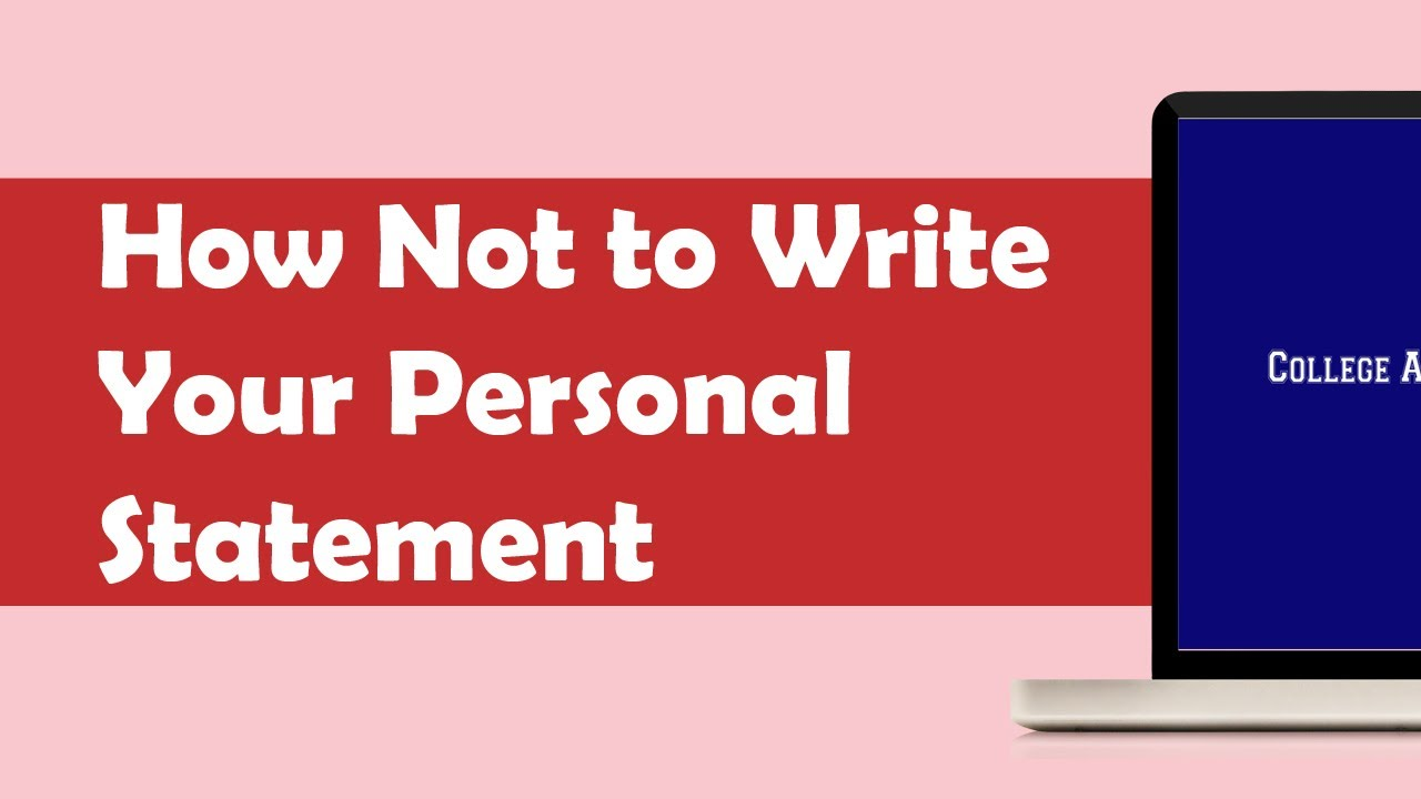 The Personal Statement  Strategies for Supporting Freshman     Prompt
