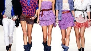6 Spring Outfits in 1 Minute: Free People, Karmaloop, Armrita, Forever 21 (Spring 2011 Look Book)