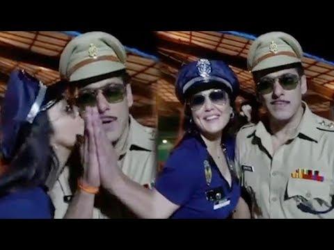 Cop Preity Zinta Kisses Dabangg Salman Khan aka Chulbul Pandey| HUD HUD Dabangg Mp3