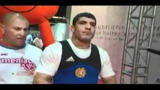 2010 World Weightlifting Championships 94kg Class Part 1